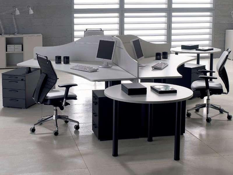 Arredo Ufficio Grigio : Arredo ufficio ikea arredamento studio v